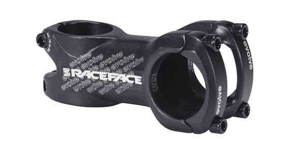 Race Face Evolve - Potencia MTB y potencia bicicleta carretera - Ø31,8mm 6° negro